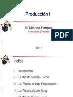 El método símplex r1
