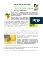 No Descartes La Cascara Del Limon