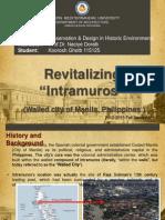 "Revitalizing ""Intramuros"""