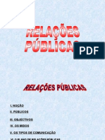 0 Relações Públicas