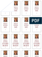 Jesus Loves Me-Everbody Cards