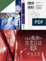 To Aru Majutsu No Index - Volume 13