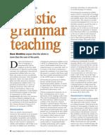 Holistic Grammar Teaching