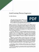 Bandura Teoria de Aprendizaje Social Org Ingles