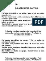 Cantos Da Formatura 2012