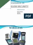 Parv Sharma- Wireless Security