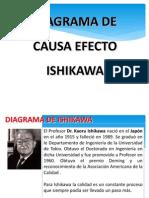 Diagrama de Causa Efecto Ishikawa