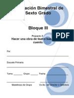 6to Grado - Bloque 3 - Proyecto_2