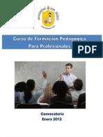 Maestria Don Bosco- Pedagogia