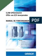 InfoPLC Net CJ1M CPU2x IO Incorporadas