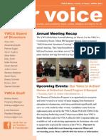 Our Voice, April 2013