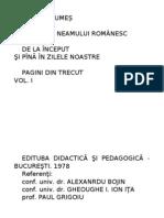 Mihail Drumes - Povestea Neamului Romanesc Vol 1