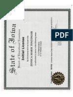 Initial Teaching License