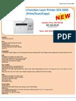 Samsung PrinterSCX3405 West 270313