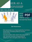 manager as relationship builder