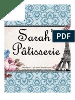 Sarah's Patisserie Public Relations Plan
