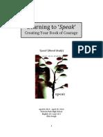 speak unit plan