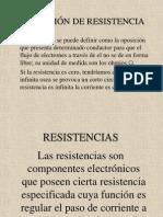 Presentación de resistencias
