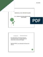 MANUAL DE ORIENTAÇÃO TCC DE EDIFICAÇÕES [Modo de Compatibilidade]