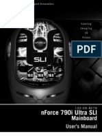 nForce 790i Ultra SLI motherboard - manual