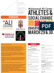 Muhammad Ali Athletes and Social Change Forum Program