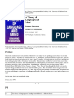 Bencivenga_A Theory of Language and Mind
