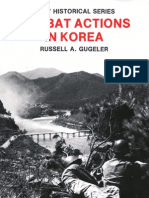 COMBAT ACTIONS IN KOREA (Front)