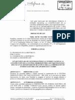 Proyecto de Ley 2970, Paquitzapango (Contenido)