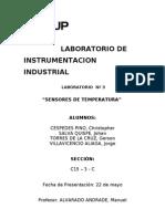Lab 3. Sensores de Temperatura