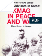 Military Advisors in Korea: KMAG in Peace and War (Front)