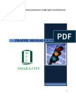 Automatic traffic light controller