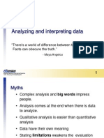 Analyzing Interpreting Data (2)
