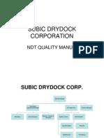 Subic Drydoc Ndt Quality Manual