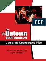 Uptown Music Collective Corporate Sponsorship Marketing Plan
