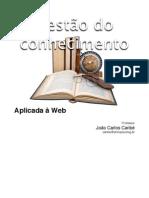 Gestao do Conhecimento Aplicada a Web