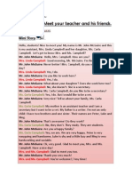 FP English - Lesson 03 - Meet Your Teacher and His Friends