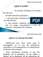 1. Generalidades Sobre Manual de Estilo de APA