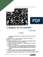 4 Dialogos de Los Animales
