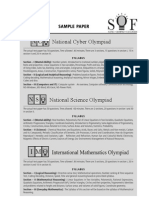 Sof imo sample paper Class 10