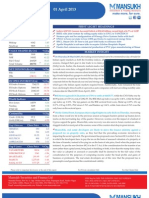 Go Ahead for Equity Morning Note 01 April 2013-Mansukh Investment and Trading Solution