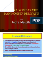 STATIKA KOMPARATIF DAN DIFFERENSIAL by Indra Maipita