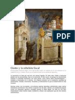 Giotto y la rebelión fiscal