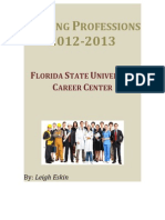 helping professions career profiles 2012-20131