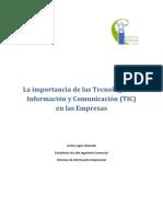La Importancia de La TICs en Las Empresas