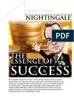 the essence of success - earl nightingale