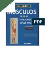 Kendall's Músculos, pruebas, funciones y dolor postural 2