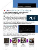 About AdIns Center of Excellence - 4 Pg