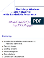 Routing in Multi-Hop Wireless Mesh Networks