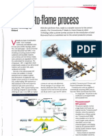 Waste to Flame Process