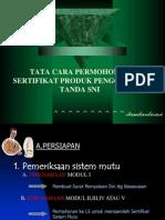Standardisasi 10 (Sertifikasi Produk SNI)